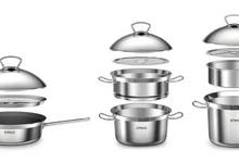 上海工業設計公司,浪尖獲德國IF獎的作品:多功能聚溫鋼一體系列鍋具
