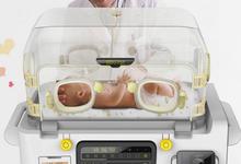 上海浪尖工业设计公司母婴产品设计案例-Babyface婴儿培养箱