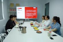 上海工业设计协会会长王日华一行走访上海浪尖工业设计有限公司