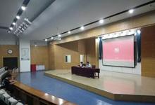上海浪尖工业设计有限公司在艺术设计系举办宣讲讲座