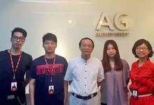 上海工业设计协会常务副会长兼秘书长王日华视察上海浪尖