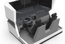 上海浪尖设计的智能大型模拟驾驶舱——荣获第八届广东省省长杯工业设计大赛产品组铜奖